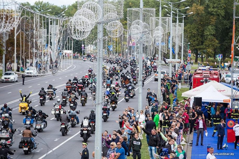 HOG Rally: мотоциклисты закрыли сезон в День города