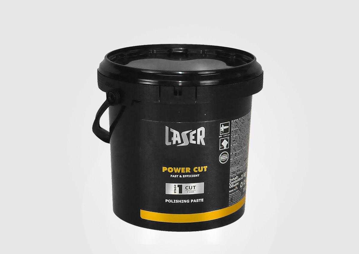Полировальная паста LASER Power Cut белая 1кг 49930