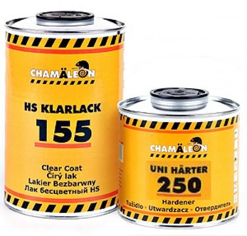 Бесцветный лак Chamaeleon HS 155 1л + UV фильтр 11555 11555