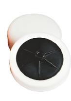 Круг полировальный на липучке жесткий 150*50 белый 49120