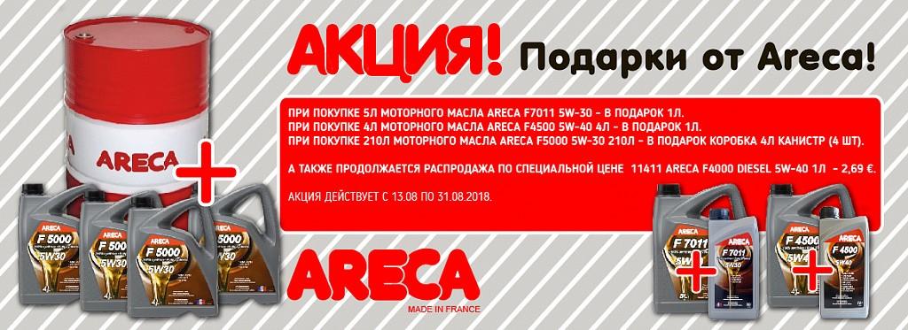Подарки от ARECA!