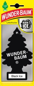 'WUNDERBAUM Черный Лед' Ароматизатор для салона авто подвесной WB34