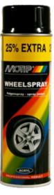 Краска для дисков черный глянец  Motip 500мл 04018