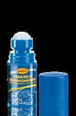 Ас-464 Смазка силиконовая для резиновых уплотнений, флакон с роликовым аппликатором, 50 мл Ac-464