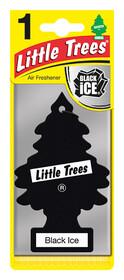 'Little Trees Черный Лед' Ароматизатор для салона авто подвесной 78092