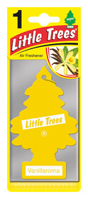 'Little Trees Аромат ванили' Ароматизатор для салона авто подвесной 78001