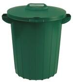 Контейнер для мусора 90л зелёный 02974-385-66