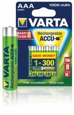 Аккумуляторы Rechargeable Accu 3+1 AAA 1000 mAh R2U (блистер 4шт) 05703301494