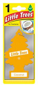'Little Trees Кокос' Ароматизатор для салона авто подвесной 78004