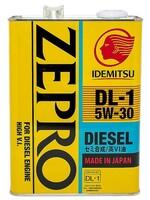 IDEMITSU ZEPRO DIESEL DL-1 5W-30 4л 2156041