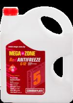 Антифриз MegaZone красный G12 -35 5кг, РБ 9000024