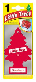 'Little Trees Клубника' Ароматизатор для салона авто подвесной 78010