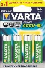 Аккумулятор Rechargeable Accu 3+1 AA 2400 mAh R2U (блистер 4шт) STOP 56756101494
