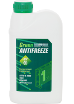 Антифриз MegaZone зеленый -35 1кг 9000034