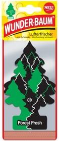 'WUNDERBAUM Свежесть леса' Ароматизатор для салона авто подвесной WB03