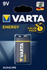 Батарейка 1шт VARTA ENERGY 9V 6LR3146 (крона) 04122229411