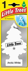 'Little Trees Арктик Вайт' Ароматизатор для салона авто подвесной 78091