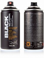 BLK Outline Silver 150 314469